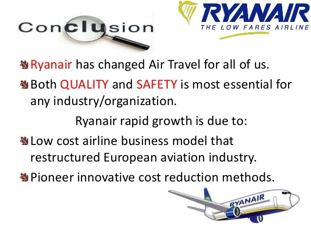 ryanair quality management Book cheap flights to and from ireland at the official ryanair website allocated seating, family plus and flexi plus now available low fares made simple.