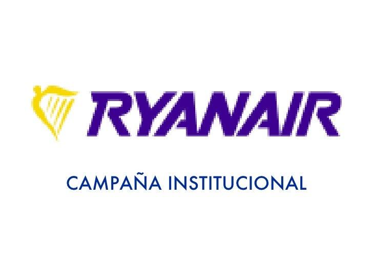 CAMPAÑA INSTITUCIONAL