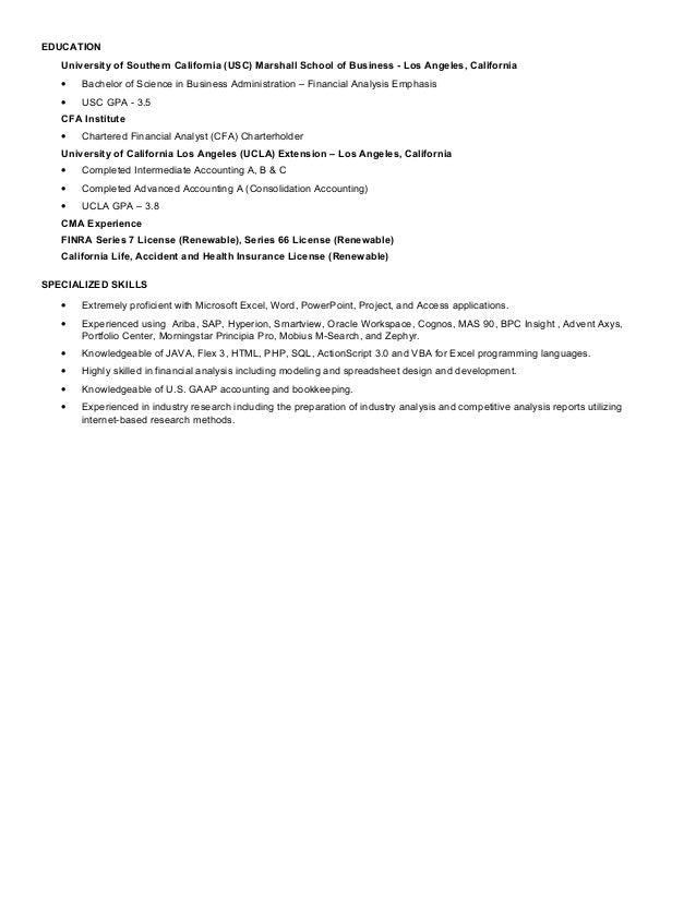 ryan fong resume