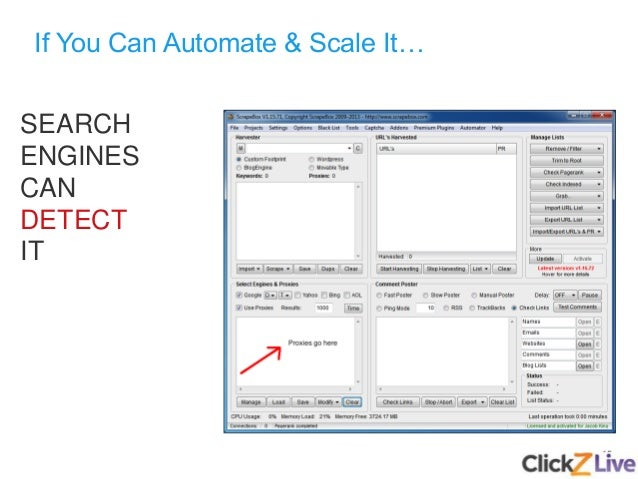 15 If You Can Automate & Scale It… SEARCH ENGINES CAN DETECT IT