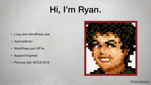 Ryan Markel - WordCamp US 2017 Slide 2