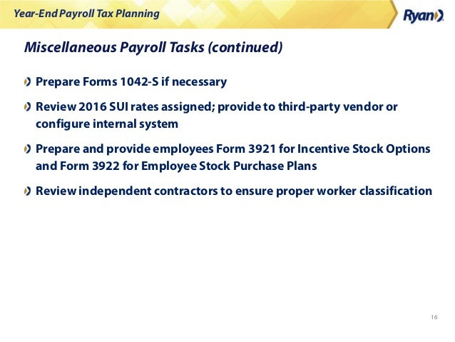 Human Capital Tax   2015 Year-End Payroll Tax Planning