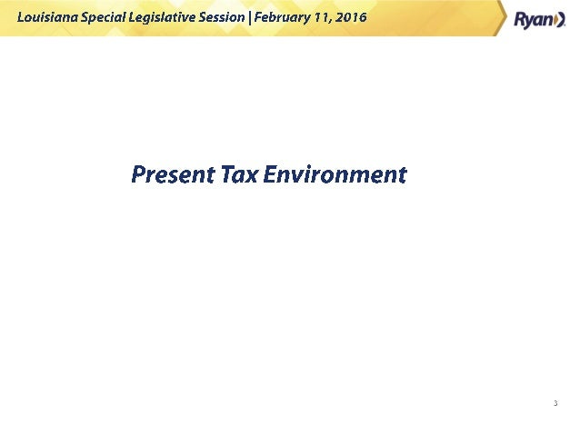 Louisiana Special Legislative Session: What to Expect Slide 3