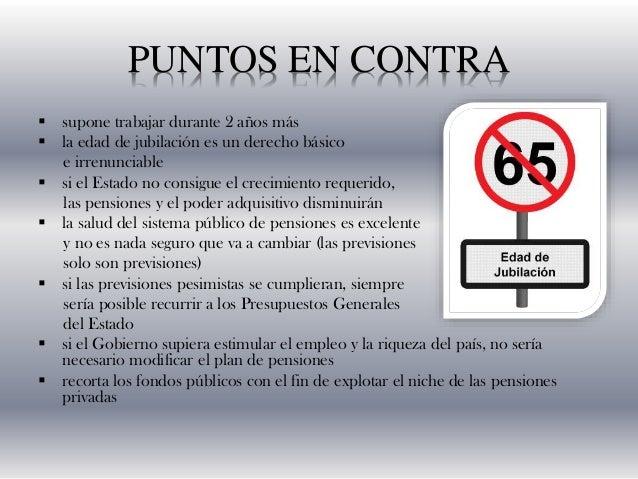 OPINIÓN PERSONAL • Es entendible que muchos ciudadanos protesten contra la subida de la edad legal hasta los 67 años puest...