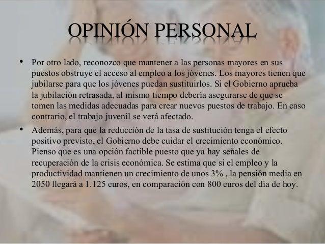 REFERENCIAS • Banco de España. La reforma del sistema de pensiones en España- Disponible en: http://www.bde.es/f/webbde/GA...