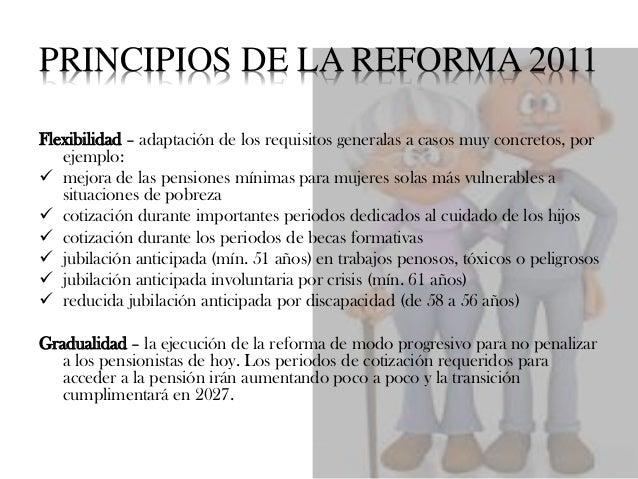 EJEMPLOS DE CAMBIOS EN LOS CÁLCULOS http://www.finanzzas.com/reforma-de-las-pensiones-en-2011