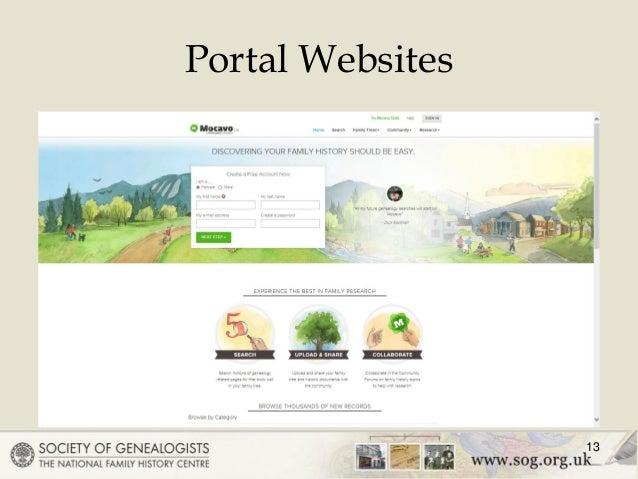 Portal Websites 13 ...