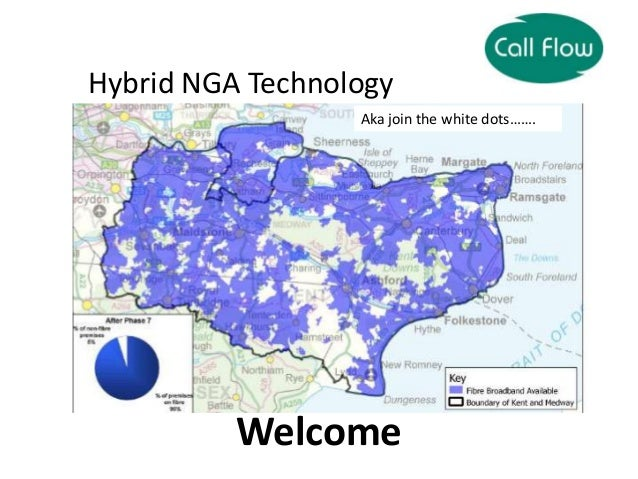 Welcome Hybrid NGA Technology Deployments… Aka join the white dots…….