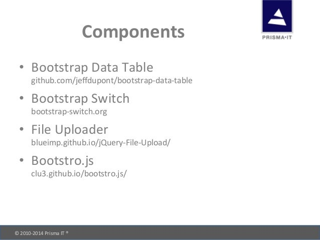 Ready? bootstrap  go! (cf objective 14 05-2014)