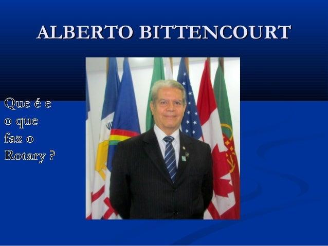 ALBERTO BITTENCOURT