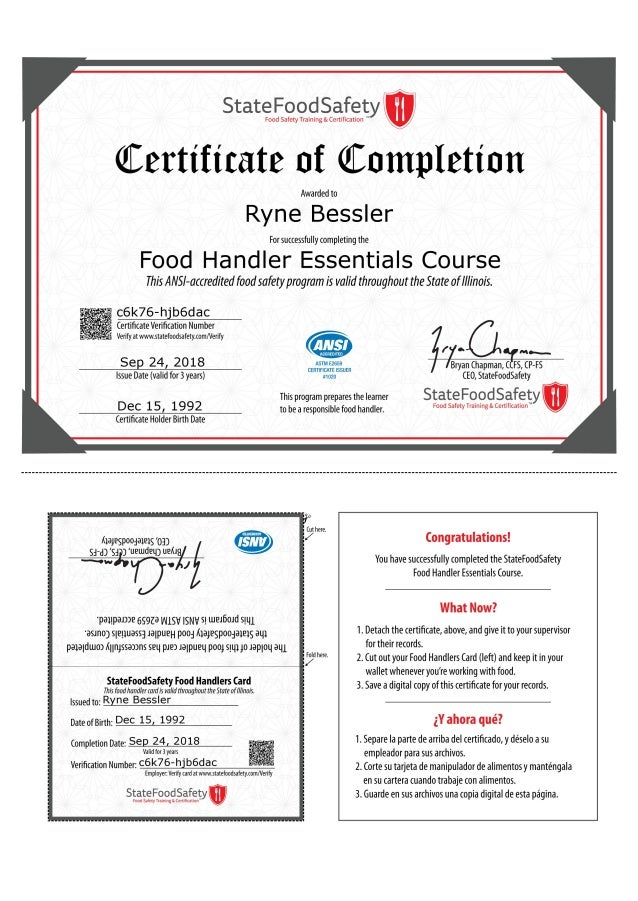 handler illinois course essentials