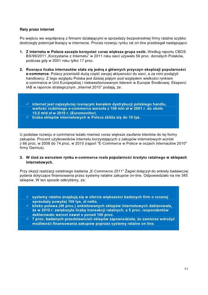 Raty przez internetPo wejściu we współpracę z firmami działającymi w sprzedaży bezpośredniej firmy ratalne szybkodostrzegł...