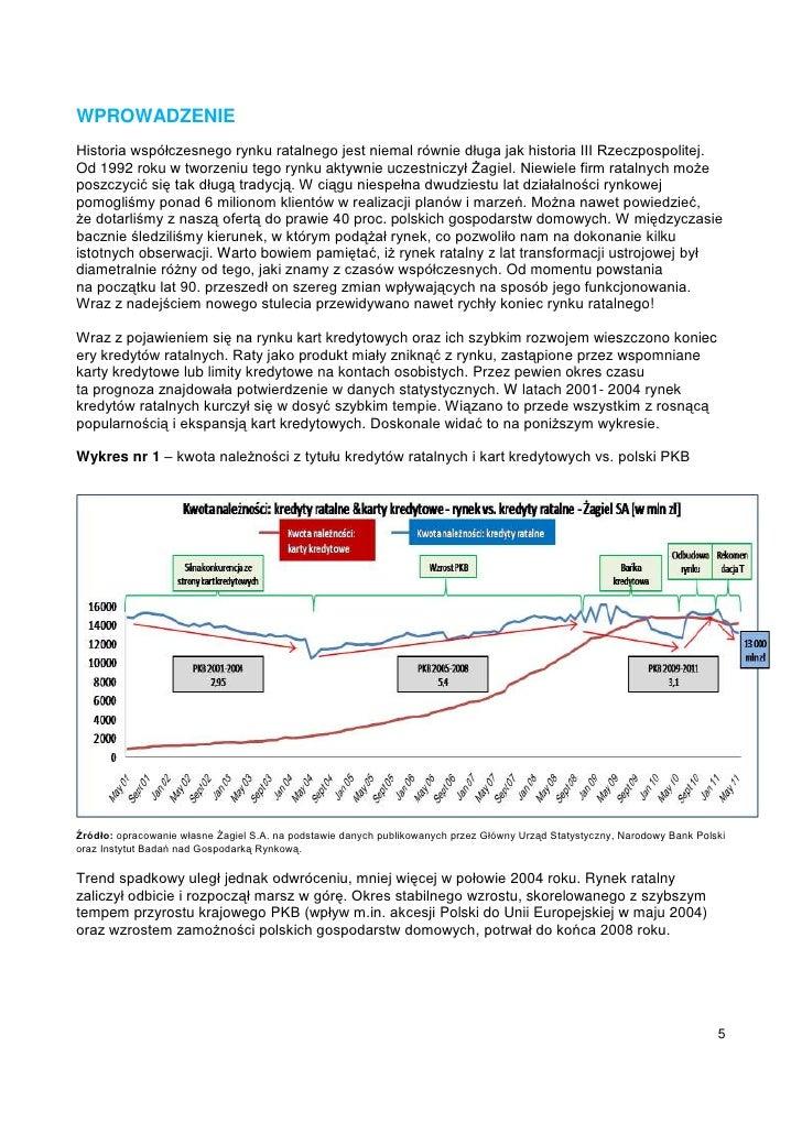 WPROWADZENIEHistoria współczesnego rynku ratalnego jest niemal równie długa jak historia III Rzeczpospolitej.Od 1992 roku ...