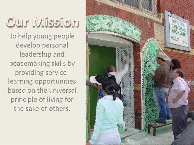 Religious Youth Service Introduction Slide 3