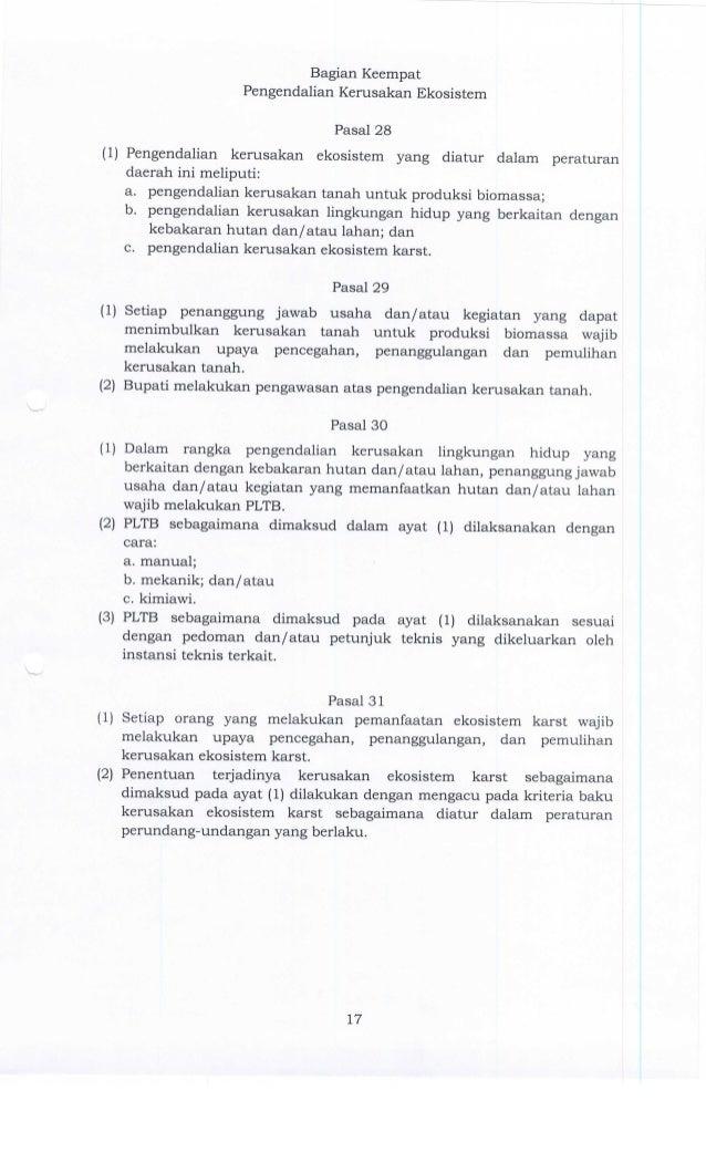 Peraturan Daerah Kabupaten Banyumas Nomor 9 Tahun 2014 Tentang Perlin