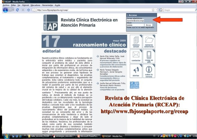 GUIÓN DOCENTEGUIÓN DOCENTE  Marco teórico del razonamiento clínico:Marco teórico del razonamiento clínico:  Concepto y a...