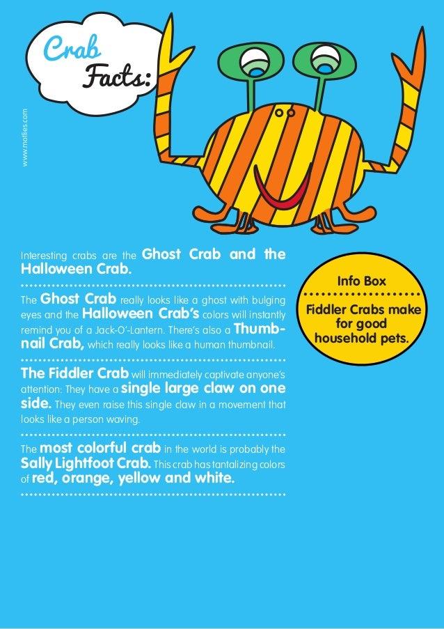 Crab facts