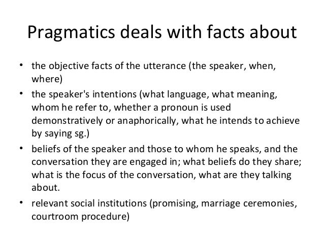 politeness and pragmatics in the context (im) politeness (in context) sections for examples of how pragmatics study is put into practice example research.