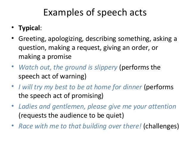Rzeszov ling pragmatics examples of speech m4hsunfo