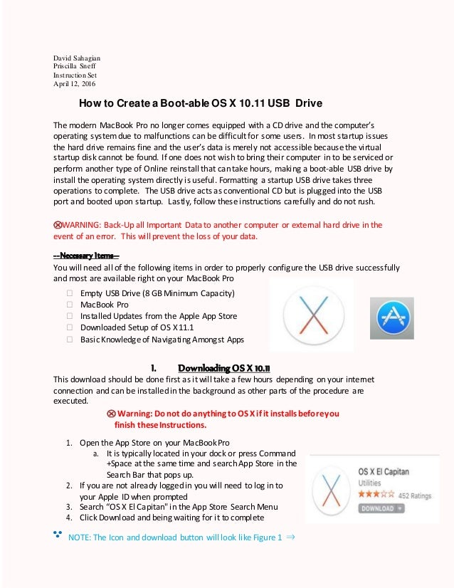 Final how to create a bootable os x 11 1