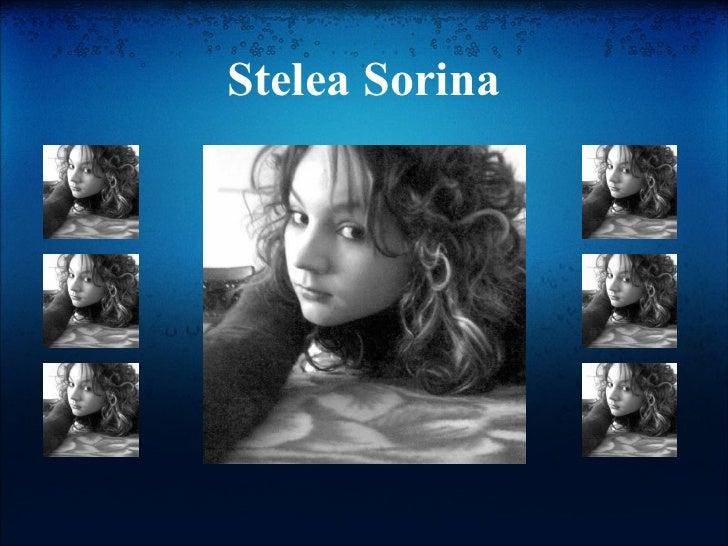 Stelea Sorina