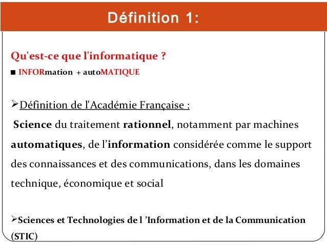 Historique De L Informatique