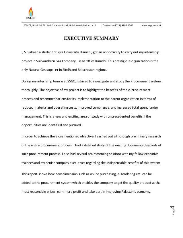summer internship project report on  u0026 39 e