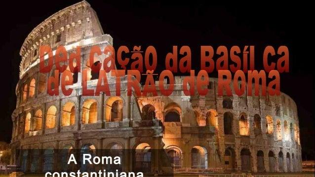A Roma  constantiniana