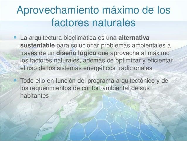 Sustentabilidad y arquitectura bioclim tica for Arquitectura sustentable pdf