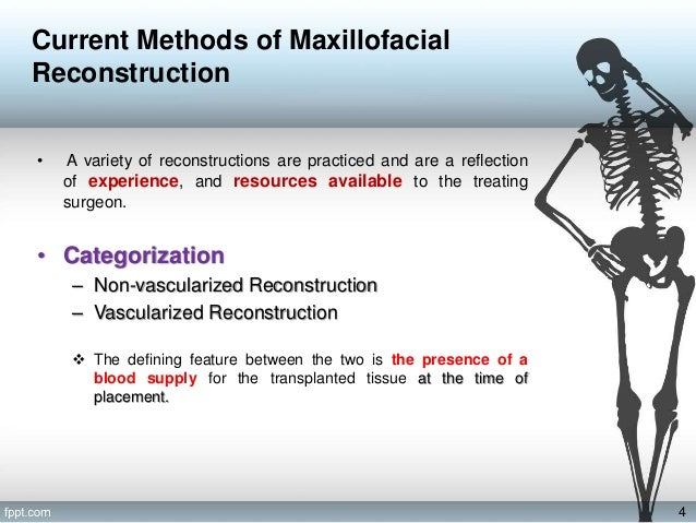 Bone Tissue Engineering Challenges In Oral And Maxillofacial Surgery