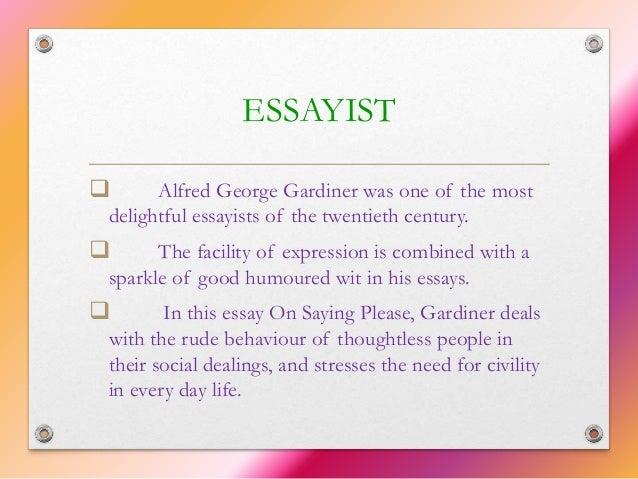 my favourite journalist 6 essayist  alfred george gardiner