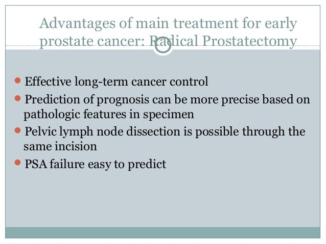 Dating after radical prostatectomy