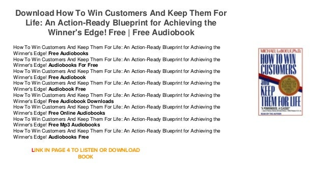 How to win customers and keep them for life download audiobook download how to win customers and keep them for life an action ready blueprint malvernweather Images