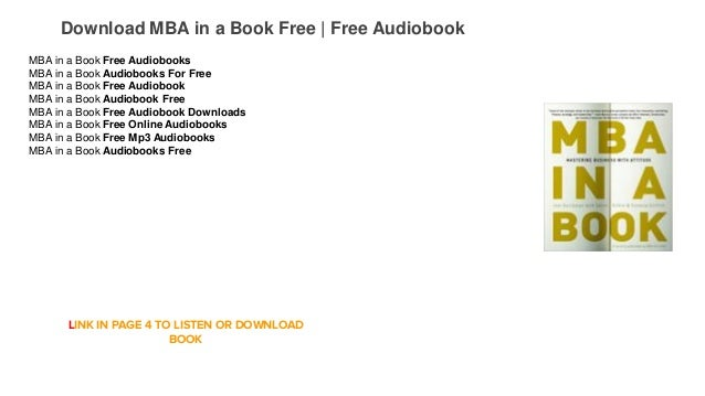 Download MBA in a Book Free | Free Audiobook MBA in a Book Free Audiobooks MBA in a Book Audiobooks For Free MBA in a Book...