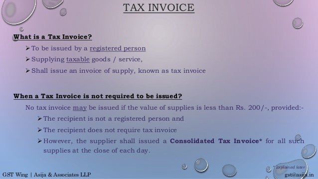 Scan Receipts Into Excel Excel S Invoicing Rules Under Gst Receipts Meaning Word with Hyundai Elantra Invoice Price Word Tax Invoice Gstasijaingst Wing  Asija  Associates Llp  Adams Receipt Book