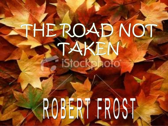 road not taken essays