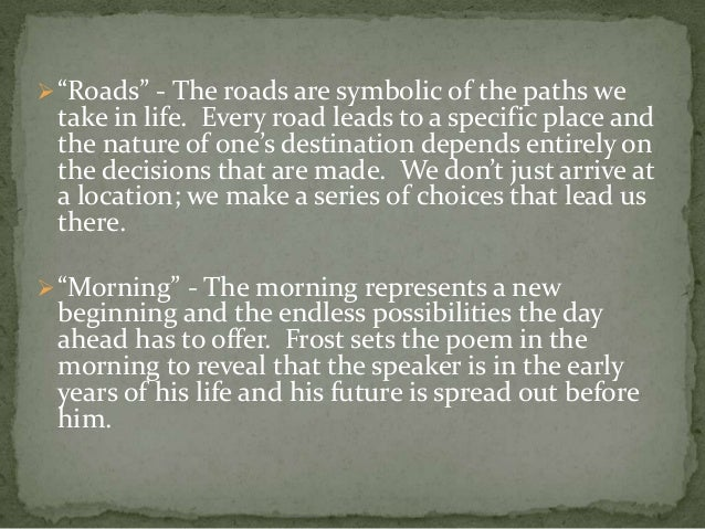 a literary analysis of by the road This is a free essay on literary criticism of road not taken buy essay on literary analysis of road not take now.