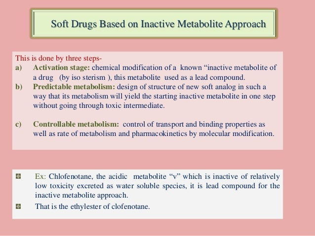 hard drugs and soft drugs Selection or synthesis of hard and soft drugs presented by, jnaresh.