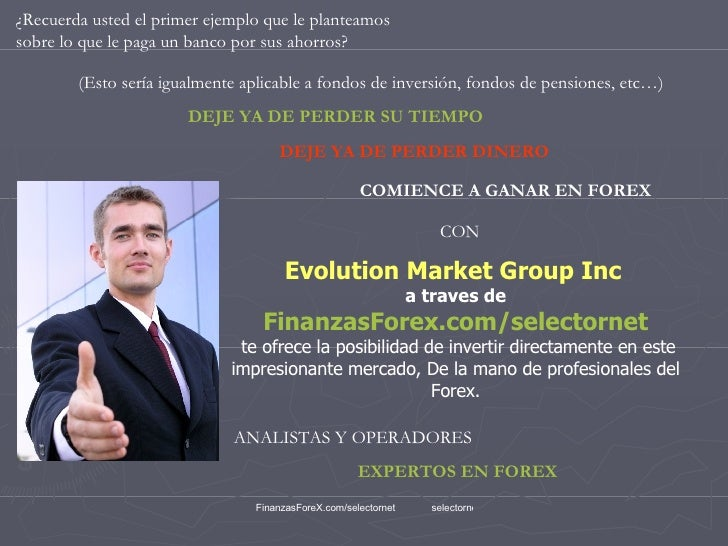 Evolution market group inc finanzas forex