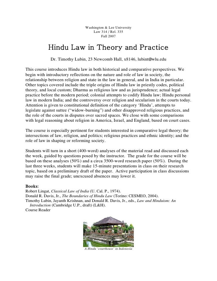Washington & Lee University                                      Law 314 / Rel. 335                                       ...