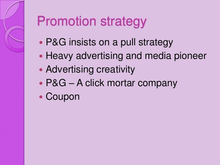 Procter and gamble marketing strategy gambling loss stories