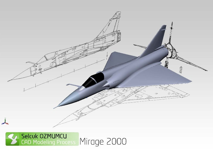Aircraft Modeling _ Mirage2000 Cad Modeling Process