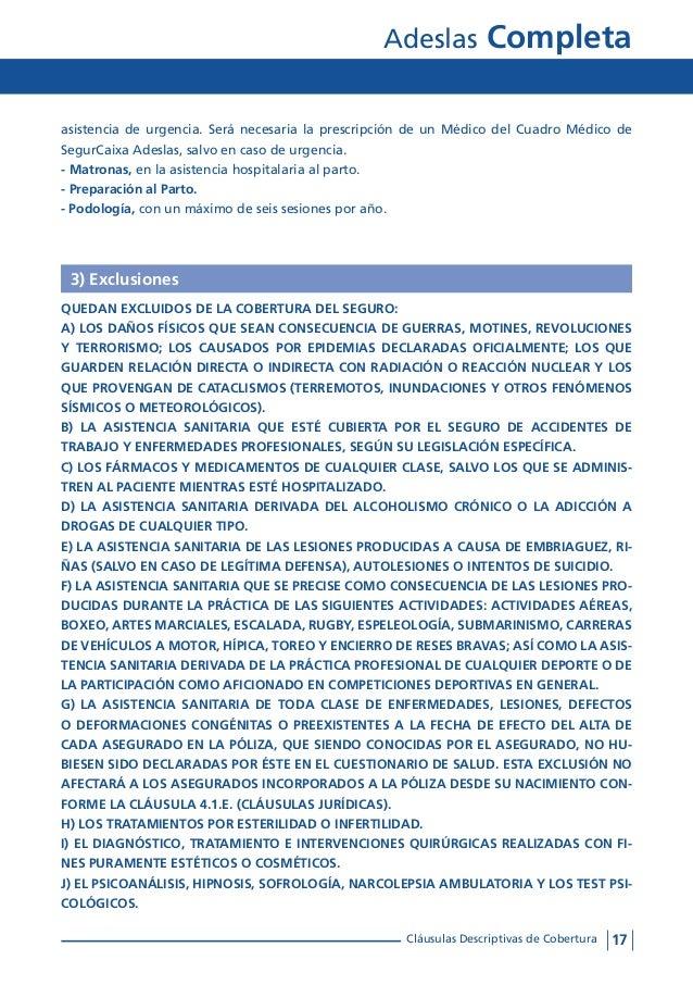 Condiciones generales adeslas completa for Clausula suelo oficina directa