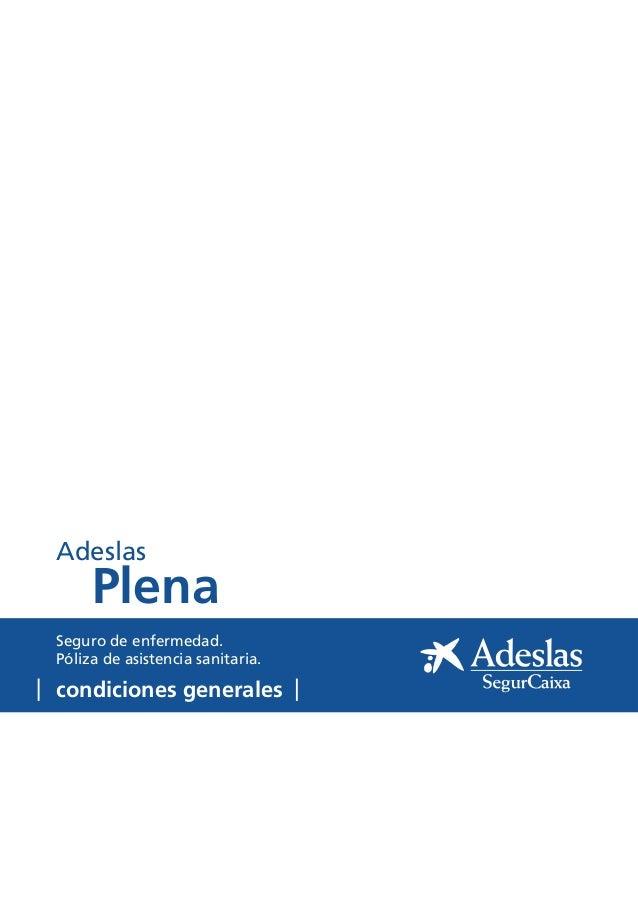 Adeslas Segurcaixa Barcelona Telefono
