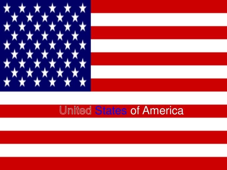 States of AmericaAmerica