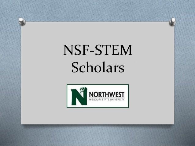 NSF-STEM Scholars