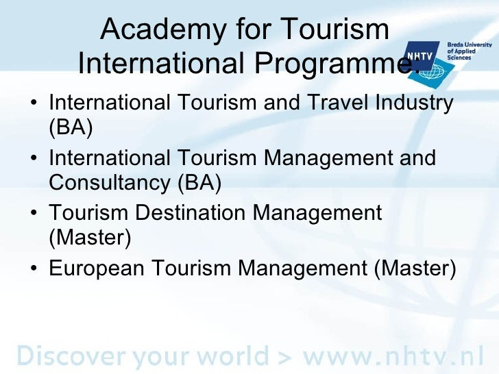studying tourism management Tourism destination management 3 a few confusing terms there are a few terms and concepts that often haunt the tourism literature here we present several.