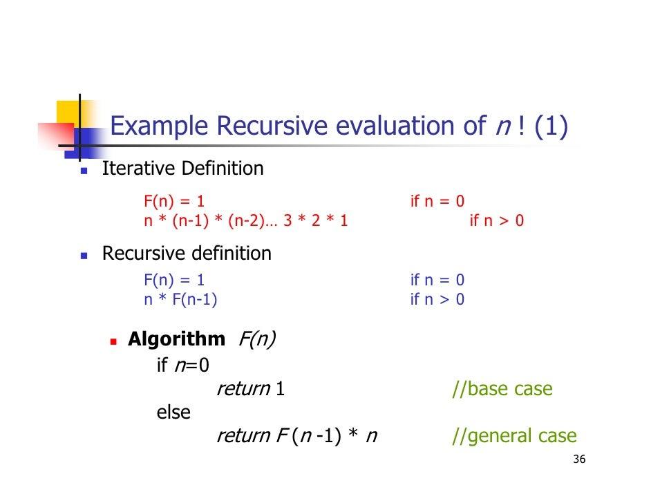 Algorithm chapter 2