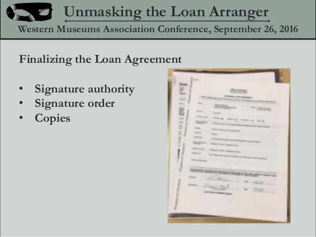 Unmasking The Loan Arranger