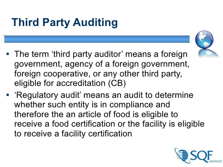 Government Recognition Of Third Party Certifications In The USA